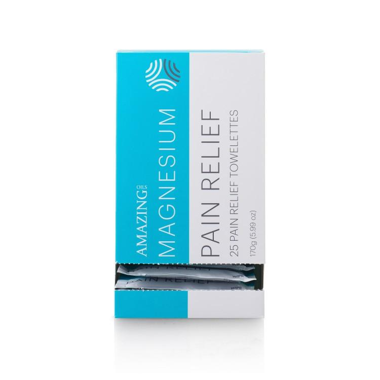 Amazing Oils - Magnesium Pain Relief Towelettes